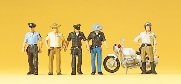 Preiser 10370 - H0 - Polizisten