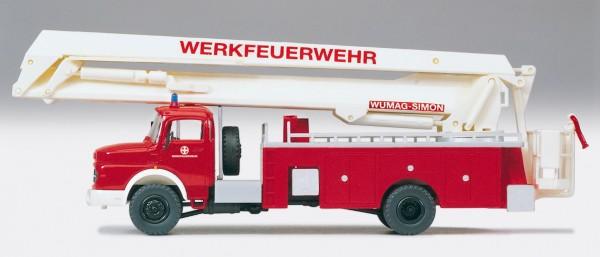 Preiser 31180 - H0 - Gelenkbühne Feuerwehr MB LA 1924