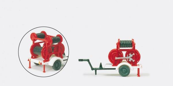 Preiser 31254 - H0 - Schlauchanhänger ZIEGLER 2 B/2 C