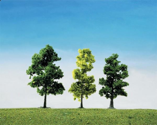 Faller 181497 - 15 Mischwaldbäume sortiert, 100 mm