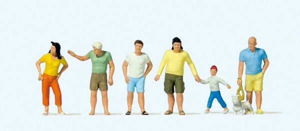 Preiser 10672 - Passanten sommerliche Kleidung